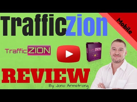 TrafficZion Review - CUSTOM Made Bonuses - What No One Else Will Tell You!