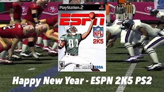 ESPN NFL 2K5 - Playstation 2 - New Channel Poll Question