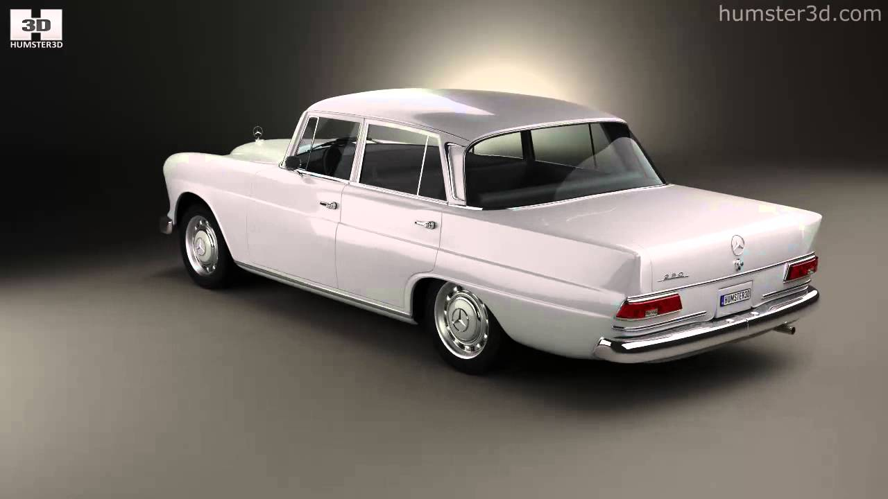 mercedes benz w110 1966 by 3d model store youtube. Black Bedroom Furniture Sets. Home Design Ideas