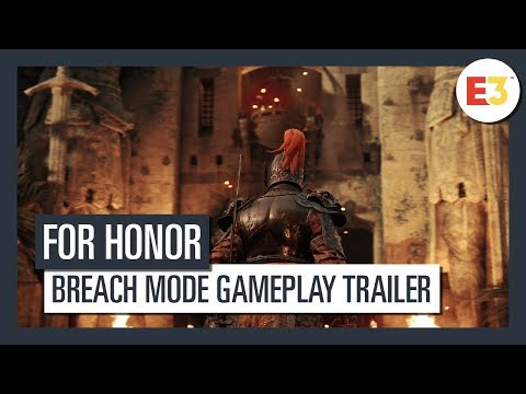 For Honor   Breach Mode Gameplay Trailer   E3 2018