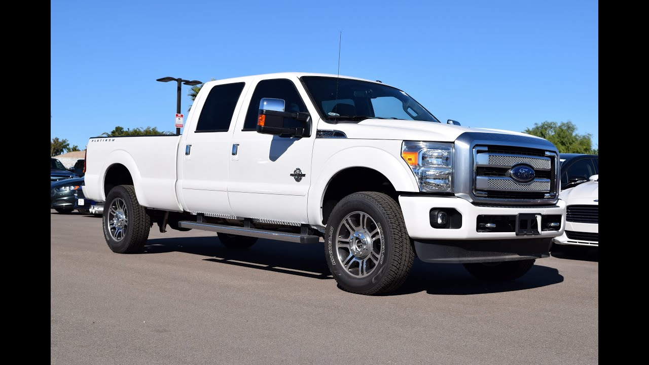 2016 Ford F350 >> 2016 Ford F 350 Platinum Walkaround