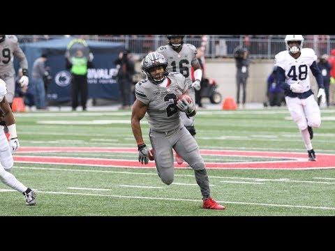 Every Run by JK Dobbins vs Penn State (13 Carries /88 Yards)