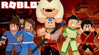 BECOMING THE AVATAR IN ROBLOX! *ROBLOX AVATAR THE LAST AIRBENDER*