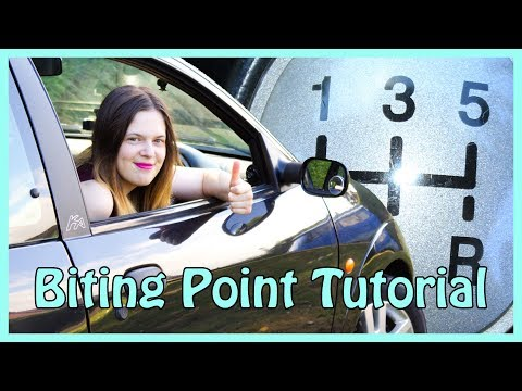 How to Find the Biting Point on a Manual Car!
