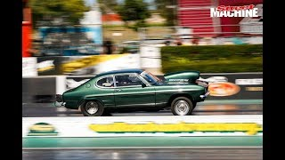 FAST RADIAL ASPIRATED STREET CARS AT DRAG CHALLENGE WEEKEND