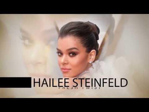 Oscar Trends Hallee Steinfeld Fresh Twist