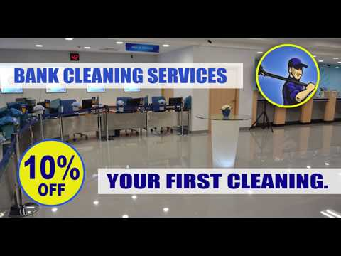 Banking office cleaning - Middlesex County