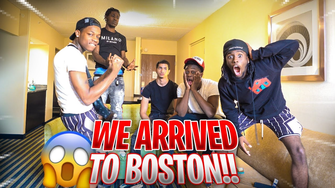 We Finally Got To BOSTON & This Happened...