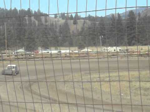 Eagle Track Raceway Dan Olson Time In Sept 20th 2014