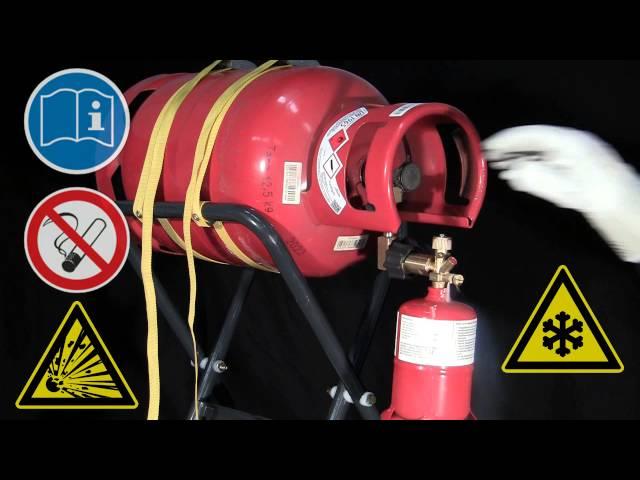 BT 60 G Refill Cylinder / Gasflasche befüllen