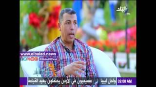 سيد حسين: إقبال الزائرين على حديقة الأورمان تضاعف هذا العام..فيديو