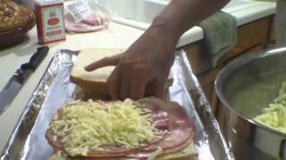 St. Louis Style Open Face Sandwich