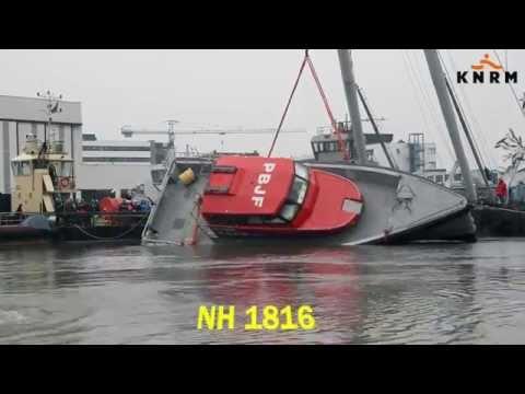 KNRM video nieuws NH1816 Kantelproef