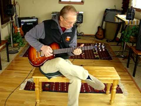 How Great Thou Art Electric Guitar Chord Solo Jim Wright Youtube