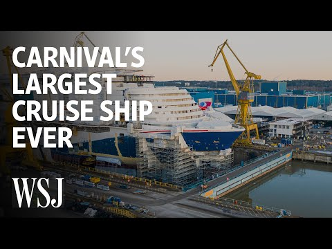Carnival's Largest Cruise Ship Ever: How It Fits 6,000 People | WSJ