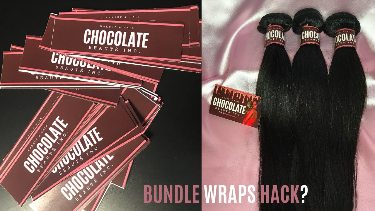 Starting A Hair Company | DIY Bundle Wraps for FREE $0