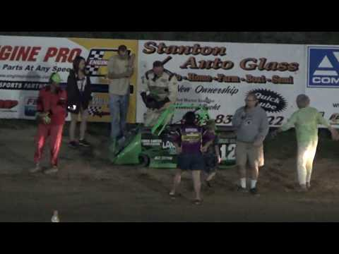 Mini Wedge Feature #2 at Crystal Motor Speedway, Michigan on 07-15-2017