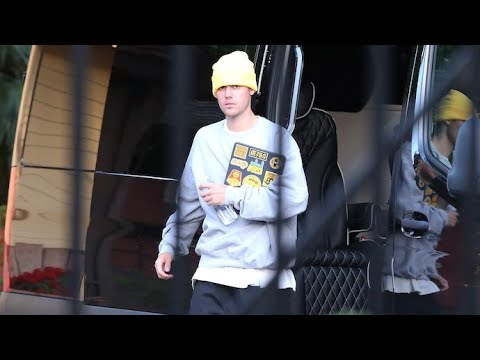 Justin Bieber Goes Back To Work At The Recording Studio - EXCLUSIVE