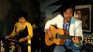 NHẠC QUÁN DIỄM XƯA - Nghệ sĩ Bùi bạch Liên biểu diễn guitar Hawaii - Diem Xua