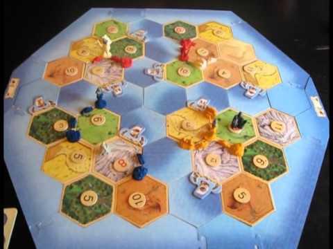 Игра настольная Колонизаторы. Купцы и Варвары. Расширение для 5-6 игроков