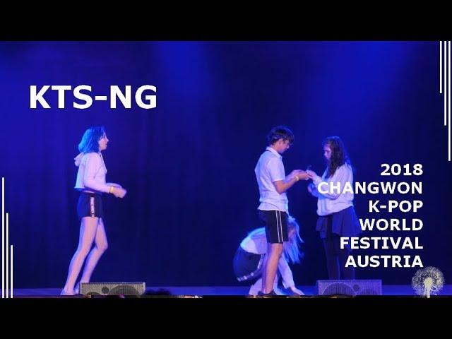 [2018 ChangFe Austria Finals] KTS-NG / Pentagon (펜타곤) - Shine (빛나리)