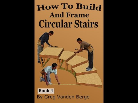 How To Build And Frame Circular Stairs Example From Book