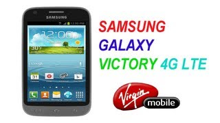 Samsung Galaxy Victory 4g Lte Unboxing (Virgin Mobile USA)