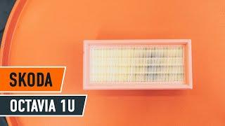Nézzen meg egy videó útmutatók a SKODA OCTAVIA (1U2) Fogasszíj készlet csere