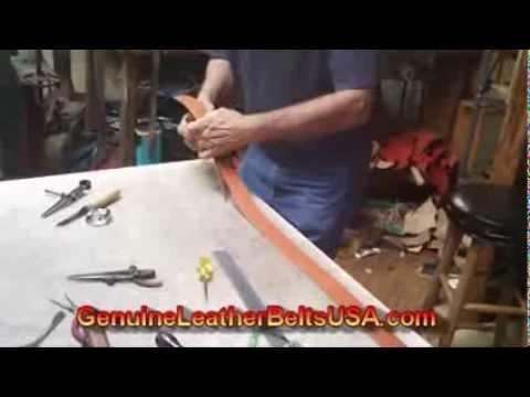 Handmade Western Belts For Women - Leather Belts Handmade In Texas USA