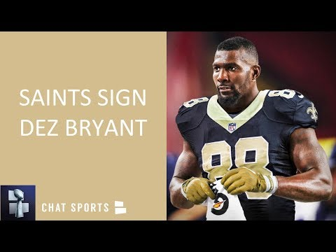 Breaking Dez Bryant Signs With The New Orleans Saints