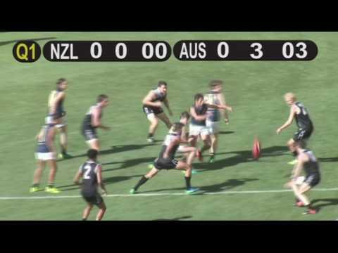 NZ Seniors vs Australian Academy 2017 - Q1