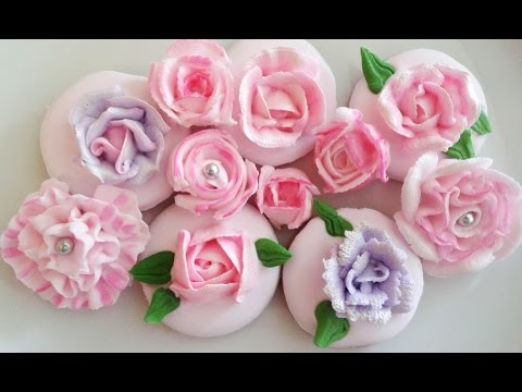 Цветы из Айсинга Marzipan Candies