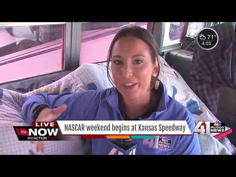 NASCAR weekend begins at Kansas Speedway