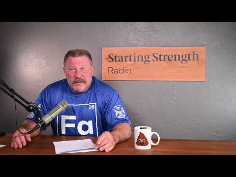 Big Strong Muscles Slow You Down? - Starting Strength Radio Clips