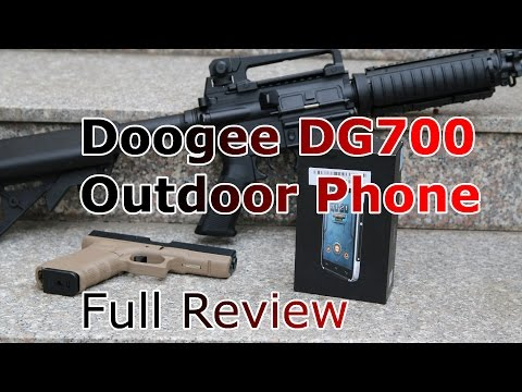 Doogee DG700 Titans 2 Review - Is it indestructible ?- 140$ IP67 Outdoor Phone [HD]