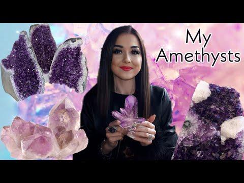 Мои Аметисты | Камень духовного пробуждения и развития | My Amethysts | Аметист | Свойства камня.