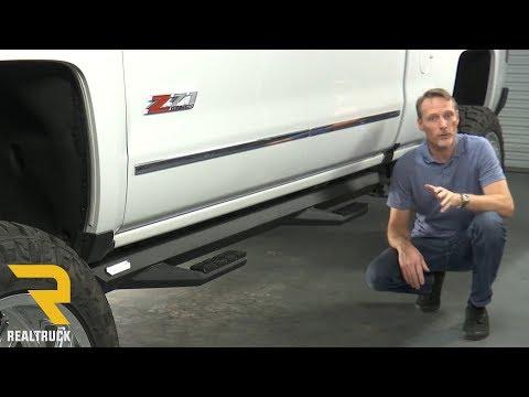 How to Install Iron Cross Sidearm Steps on a 2017 Chevy Silverado 2500 Crew Cab