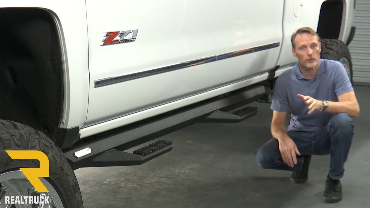 How To Install Iron Cross Sidearm Steps On A 2017 Chevy