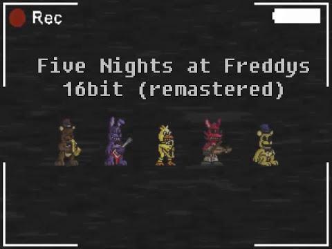 FNAF 16Bit Cover - Five Nights at Freddys TLT