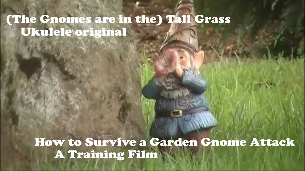 The Gnomes Are In The (Tall Grass)