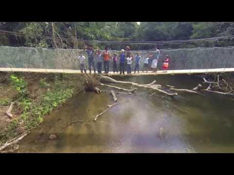 Pathway to Human Progress in Panama - The La Conga Bridge