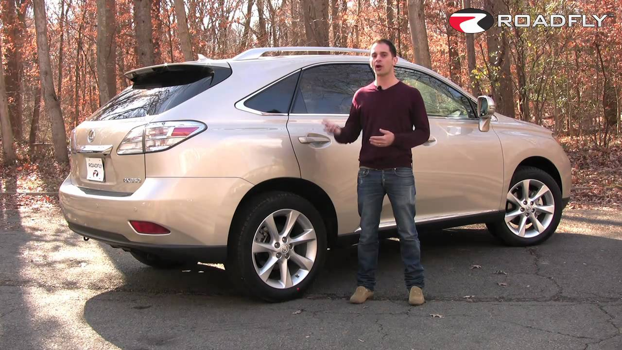 Roadfly.com   2011 Lexus RX 350 SUV Road Test U0026 Review   YouTube