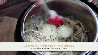 Fast Gluten-Free Mac n Cheese in the Instant Pot