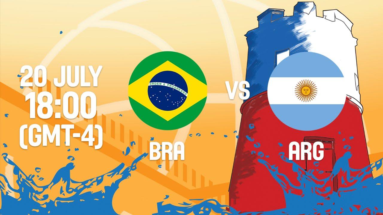 Brazil v Argentina - Full Game - Group A