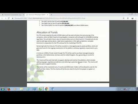 Dominium ICO - Phân Tích Và Đánh Giá Whitepaper