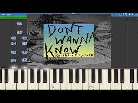 Maroon 5 ft. Kendrick Lamar - Don't Wanna...