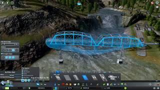 Odbudowa głównych dróg, promy - Cities: Skylines S07E102