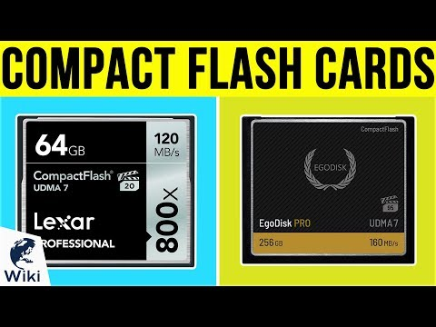 8 Best Compact Flash Cards 2019