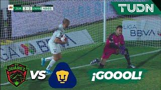¡Pero qué increíble error! Pumas de acerca | FC Juárez 3 - 2 Pumas | Liga Mx - CL 2020 - J2 | TUDN