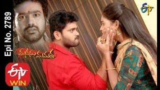 vuclip Manasu Mamata   27th December 2019     Full Episode No 2789   ETV Telugu